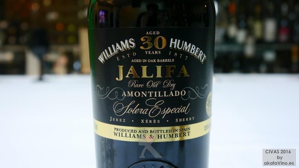 JALIFA AMONTILLADO SOLERA ESPECIAL 30 AÑOS VORS 10 Mejores Vinos Dulces y Generosos España 2016 © akataVino.es (7)