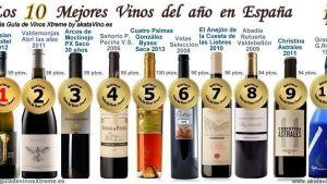 10 Mejores Vinos de España GuiadeVinosXtreme 2014 Top 10 © akatavino 300x169