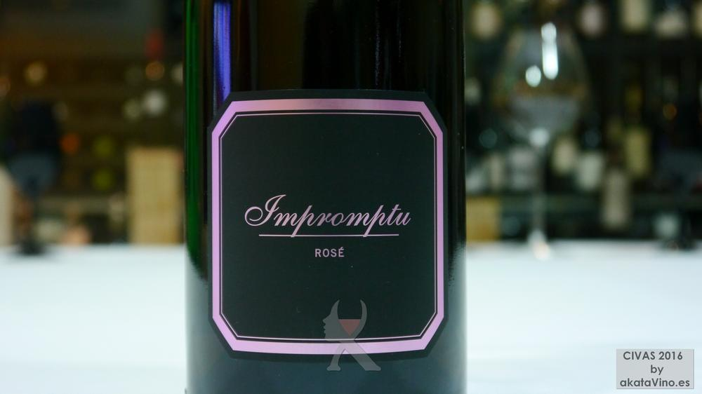 Impromptu rose 2014 TOP 1 Mejores Vinos Rosados de España 2016 Ranking AkataVino