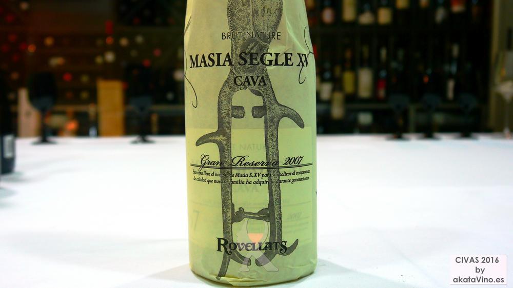 ROVELLATS GRAN RESERVA MASIA S.XV 10 Mejores Vinos Espumosos del año Premios akataVino CIVAS 2016 © akataVino (10)