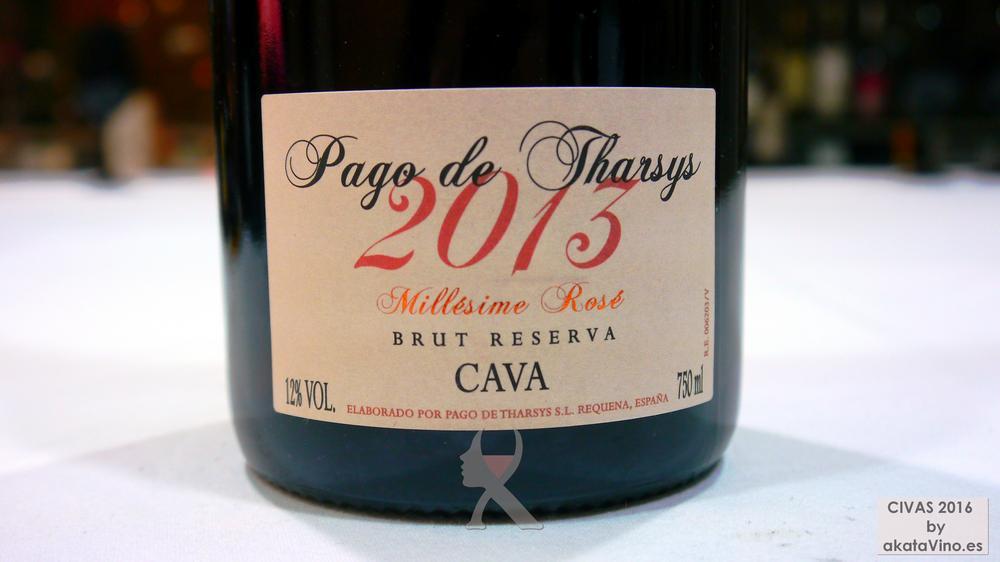 PAGO DE THARSYS CUVÉE MILLESIMÉ ROSÉ 10 Mejores Vinos Espumosos del año Premios akataVino CIVAS 2016 © akataVino (18)
