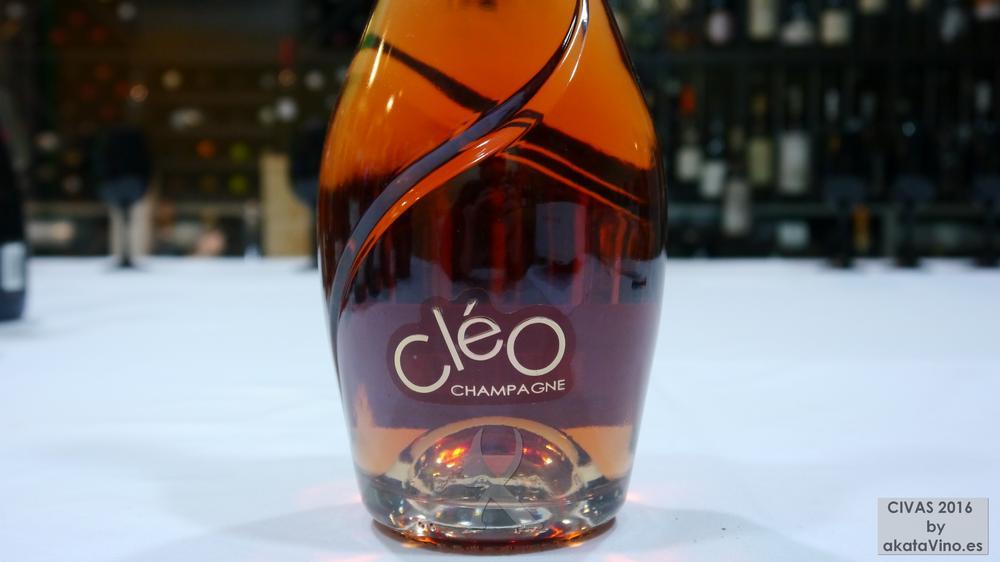 CHAMPAGNE ESTERLIN CLÉO ROSÉ 10 Mejores Vinos Espumosos del año Premios akataVino CIVAS 2016 © akataVino (3)