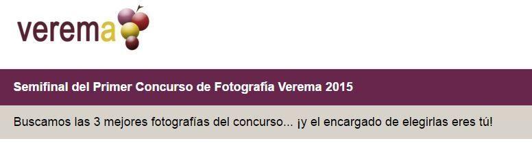 Votación Fotografía Joaquín Cardalliaguet Concurso Verema 2015