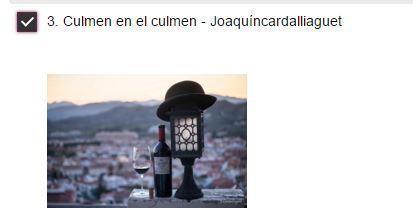 Votación Fotografía Joaquín Cardalliaguet Concurso Verema 2015 2