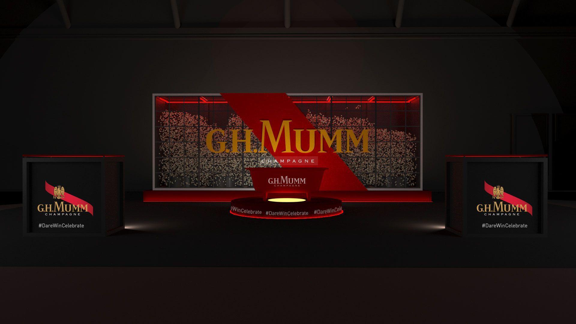 G.H.MUMM., Champagne oficial de la Mercedes-Benz Fashion Week Madrid