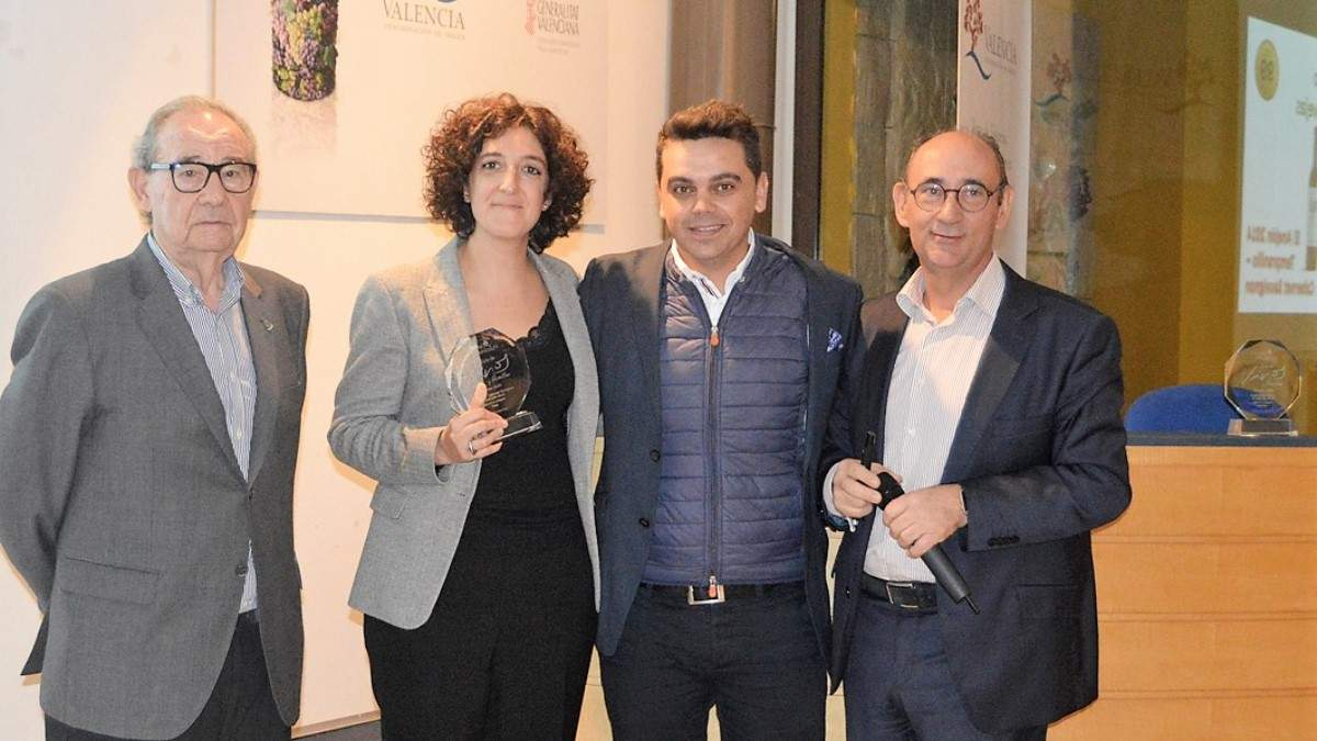 Almudena Calvo, directora técnica de Pago de Carraovejas y Ossian, Mejor Enóloga de 2019 para La Semana Vitivinícola