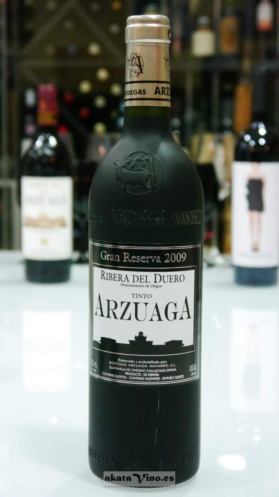 Arzuaga Gran Reserva 2009 © Guía Akatavino