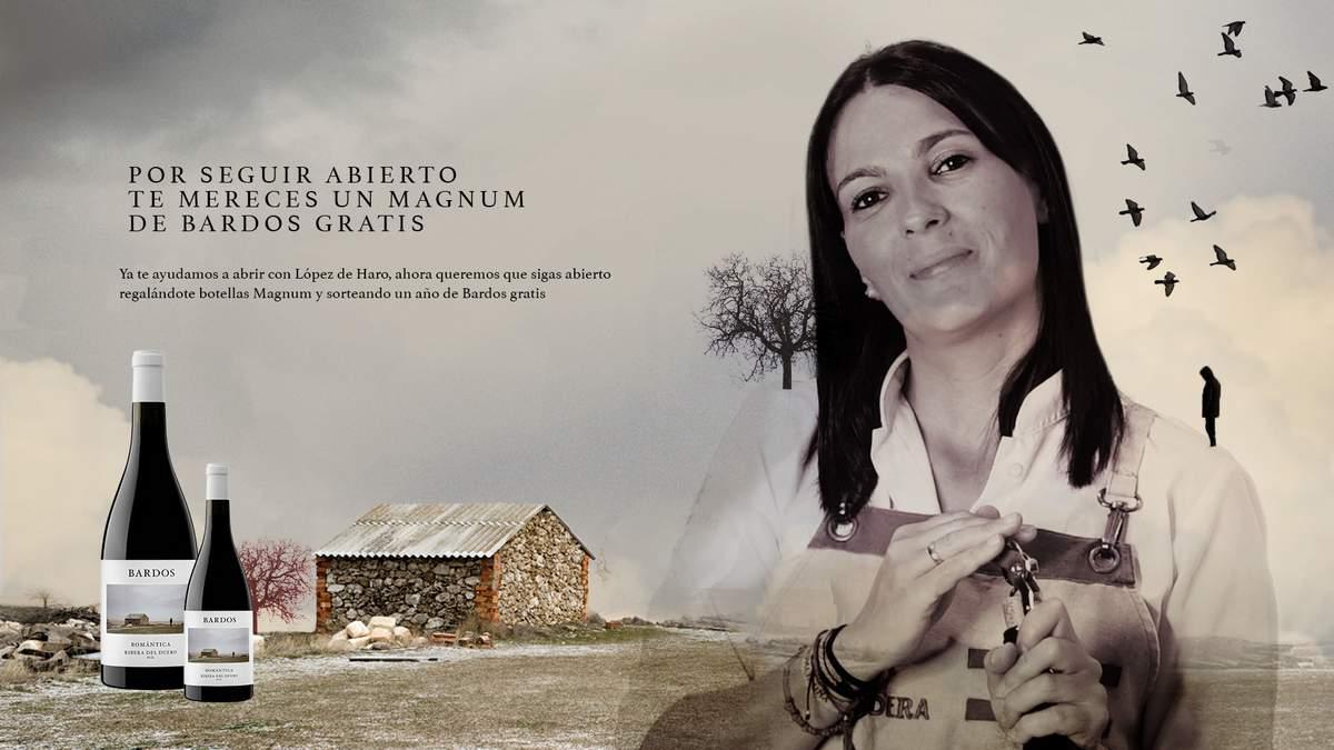 Bodega Bardos premia a los hosteleros con su peso en vino en formato magnum | AkataVino Magazine