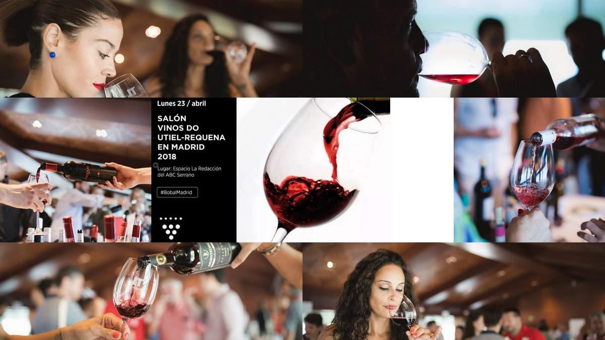 Cartel Salon Vinos Utiel Requena Madrid by Akatavino Magazine