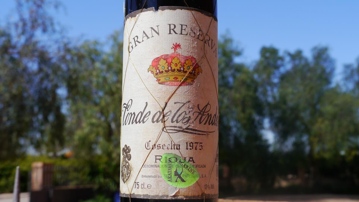 Gran Reserva Rioja Conde de los Andes GR 1975 © Akatavino.es (1)