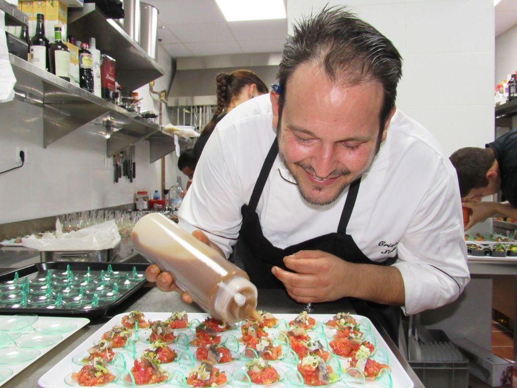 Jefe de cocina en Restaurante EBOKA. Christian Soler