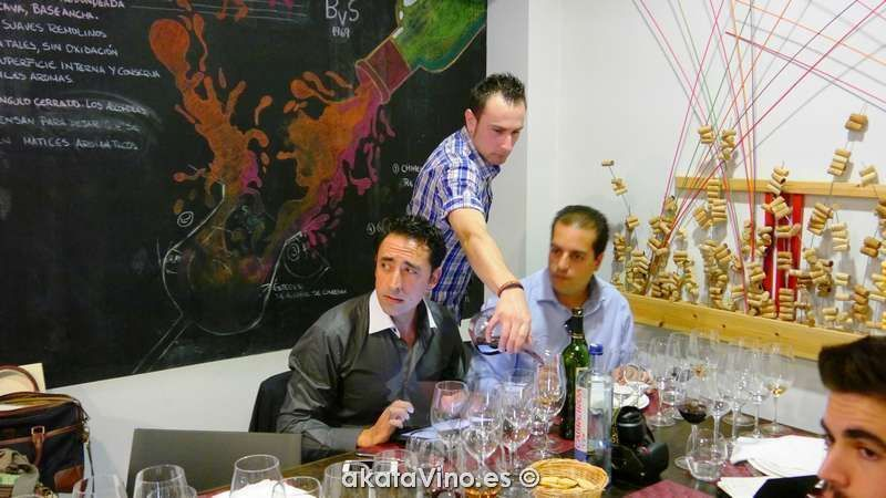 Manuel López Lord Amsterdam con Antonio Jesús akataVino wineXtreme