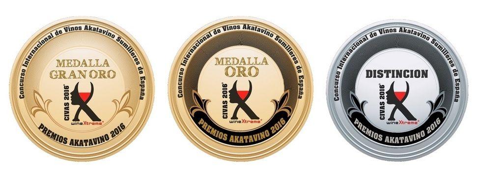 Faldon Medallas Premios akataVino CIVAS 2016 © akataVino