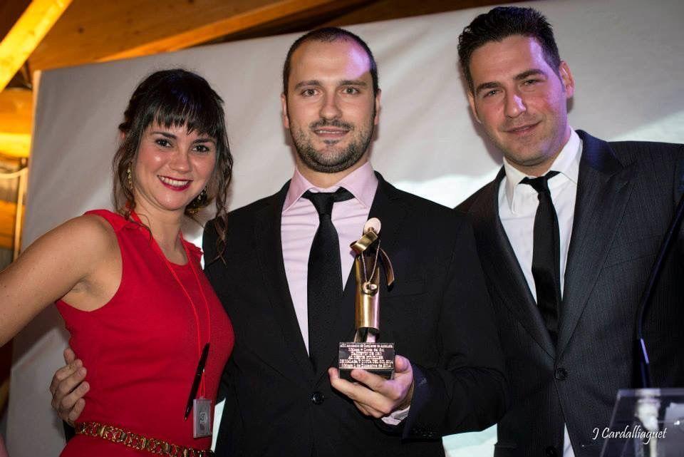 Fabián Villar Mejor Sumiller de Málaga y la Costa del Sol - Premios ASM 2014