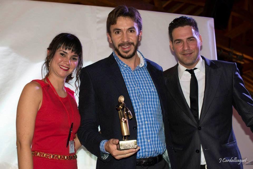 Luis Palma Tercer Mejor Sumillere de Málaga ASM 2014