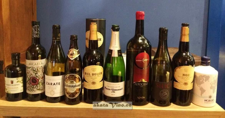 Los vinos maridaje Restaurante Eboka © akatavino