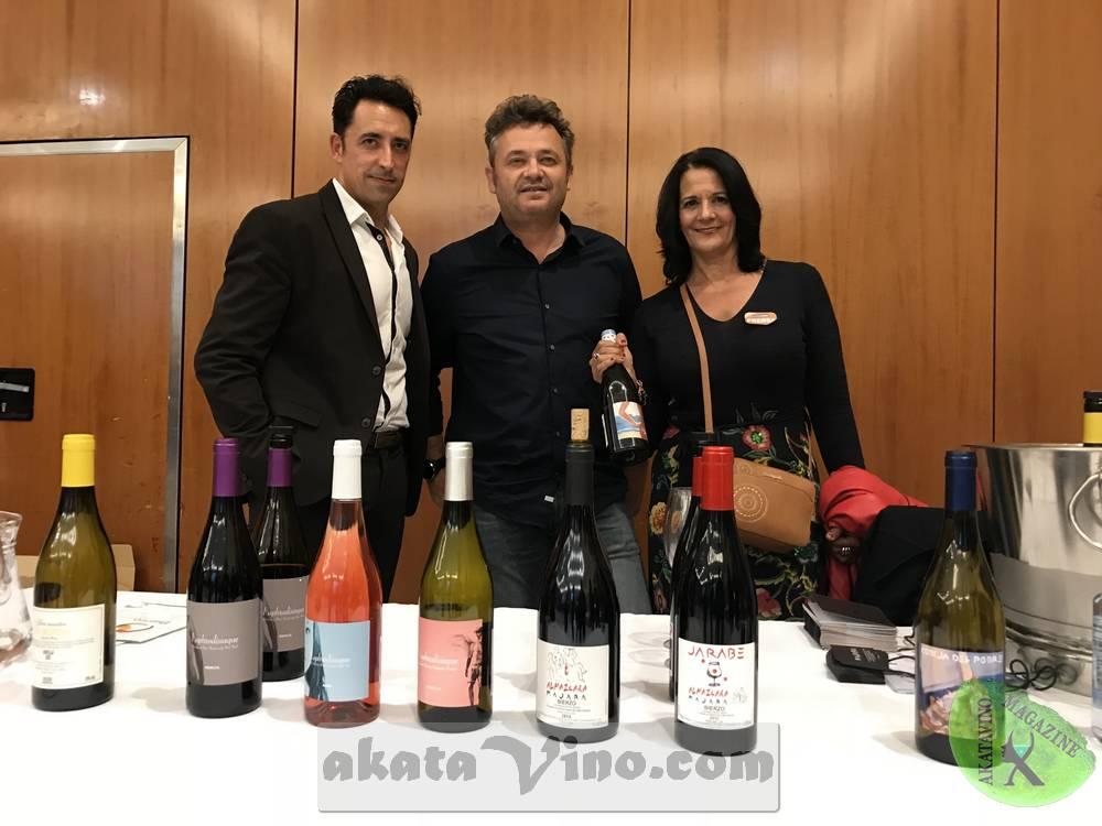 Akatavino con Javier de Almazcara Majara Salon Vinos Bierzo Malaga 04.2018 @ Akatavino.es (20)