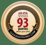 Sello 93 Puntos AkataVino © Guiaakatavino.com 150x