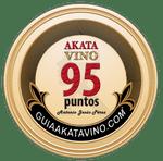 Sello 95 Puntos AkataVino © Guiaakatavino.com 150x