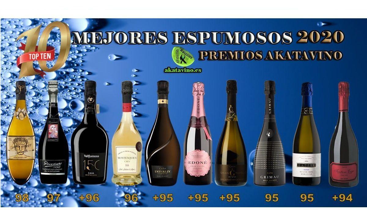 Los 10 Mejores Vinos Espumosos 2020 | TOP 10 Premios Akatavino Concurso CIVAS