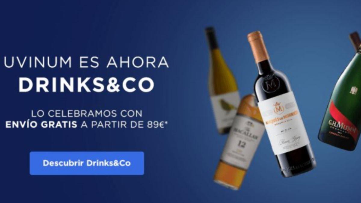 Uvinum ya es Drinks&Co. Arranca una nueva era con una nueva propuesta de venta online | AkataVino Magazine