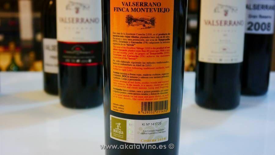 Vino Valserrano Finca Monteviejo 2010 Bodegas de la Marquesa © akatavino.es 1