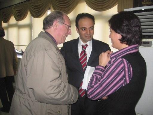 Osman Baydemir et Jean Claude Riou, V/Président de A.K.B.