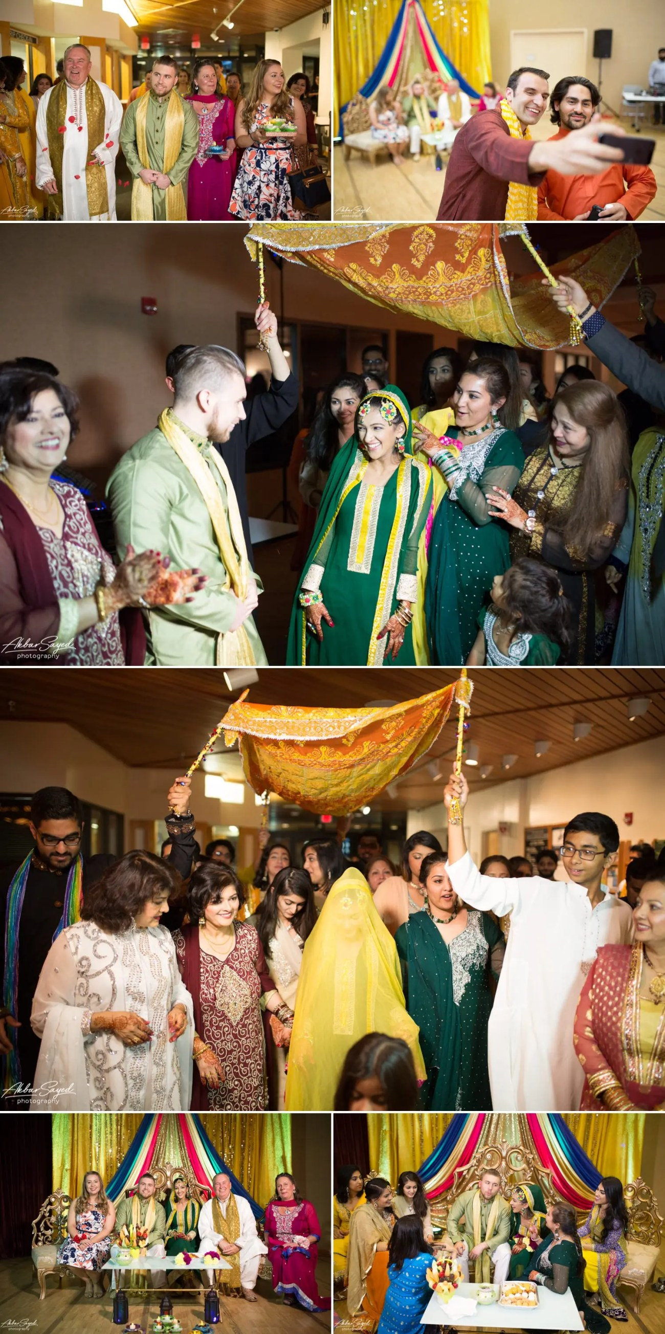 Anam and Josh - Reston Community Center Mehndi 4