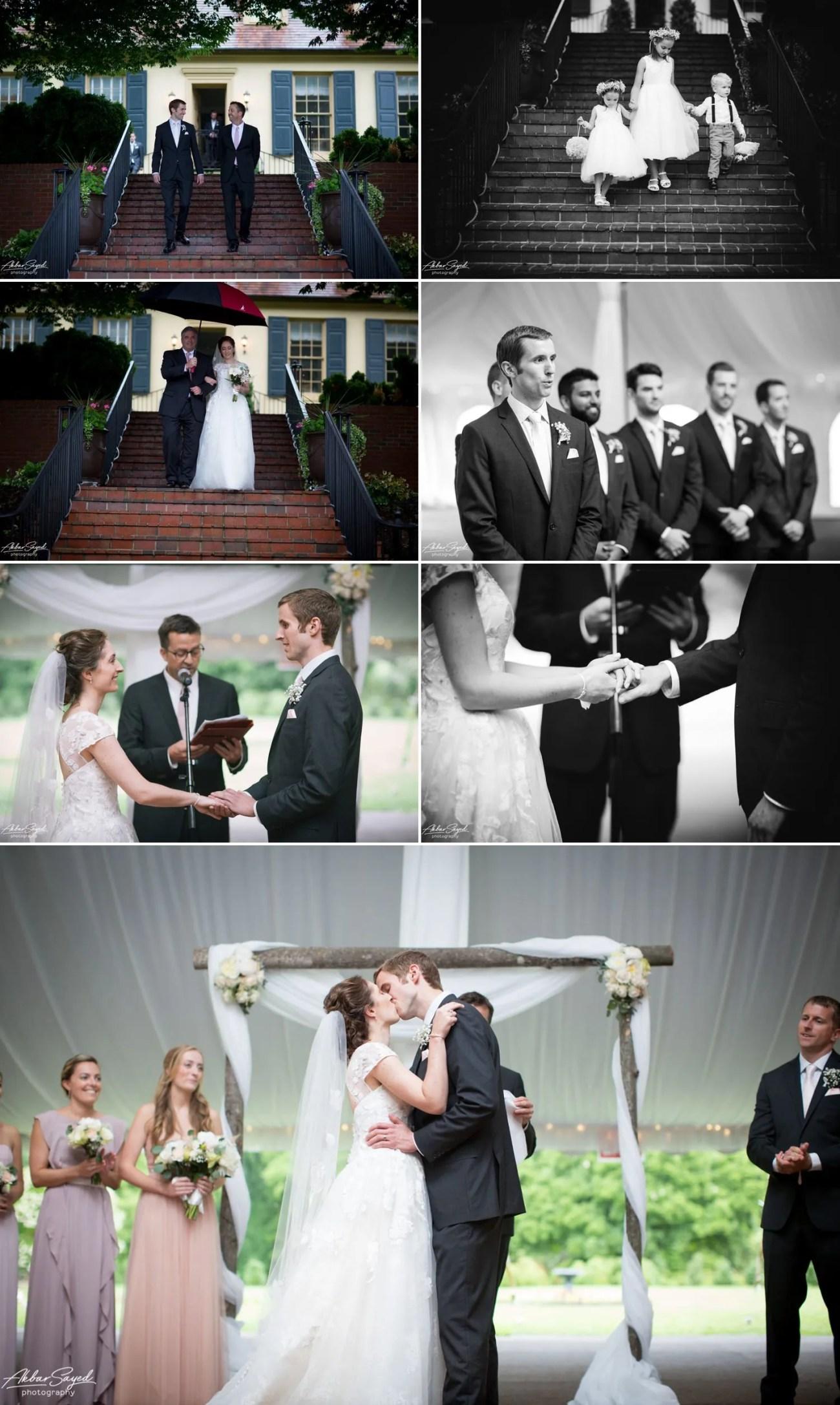 Erica and Jeff - Belmont Manor Wedding 9