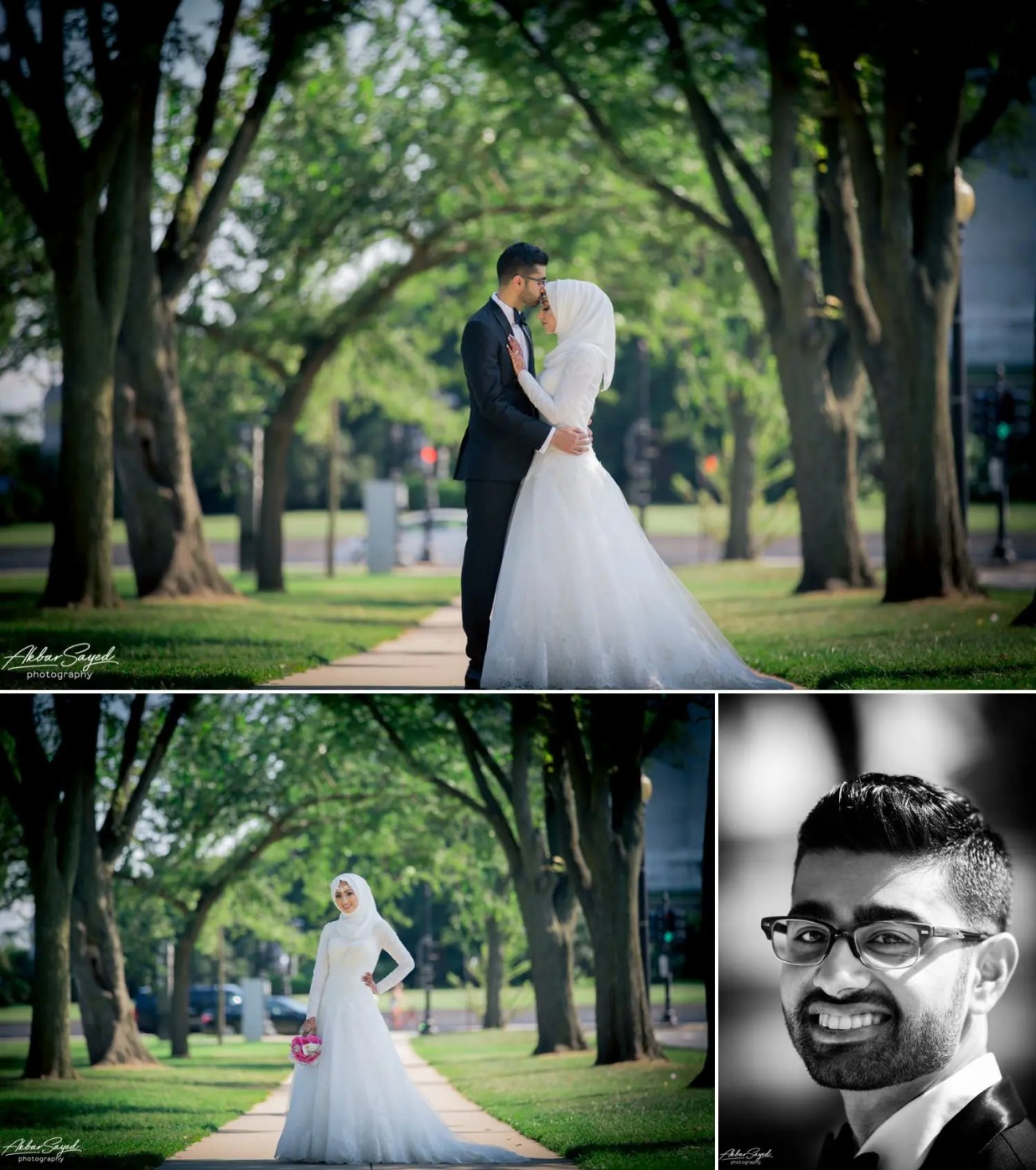 Asad and Sehar - National Mall Bridal Party Portraits 9