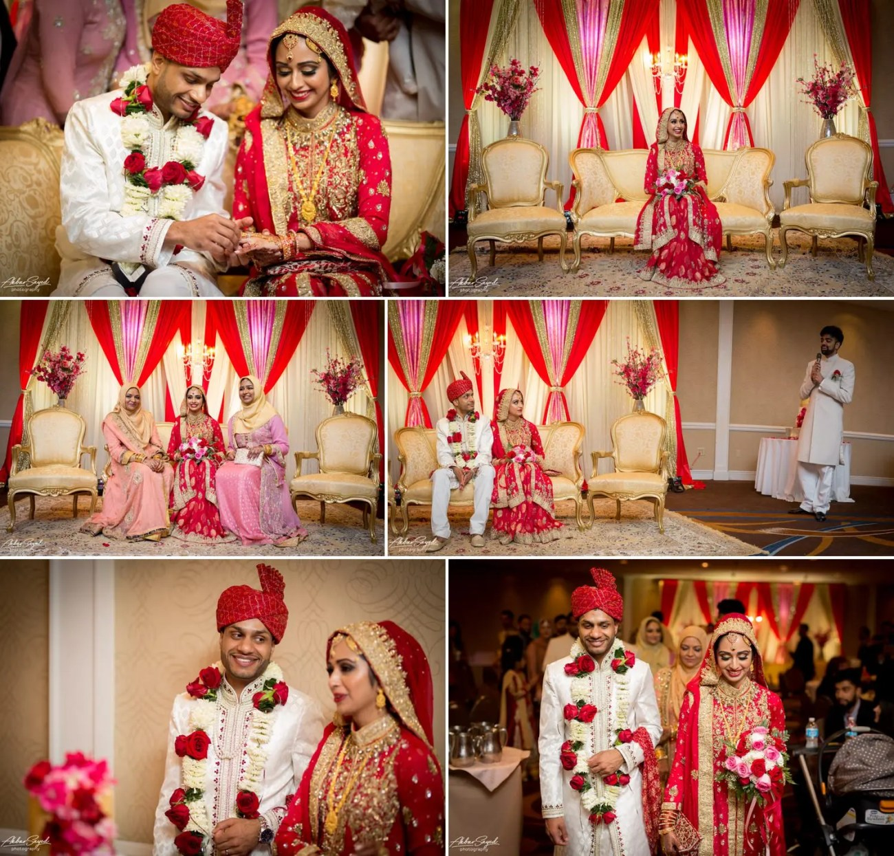 Ishrath and Imran - Silver Spring, Maryland Pakistani Wedding 9