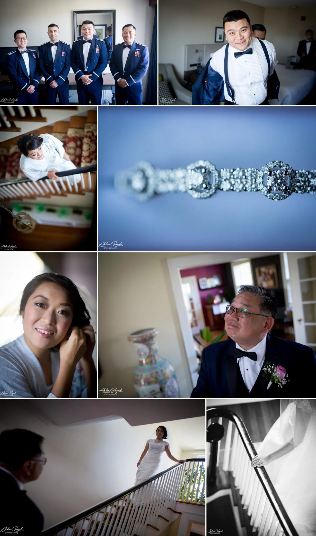 Andrea and Thuan - Crescent Beach Club Wedding 6