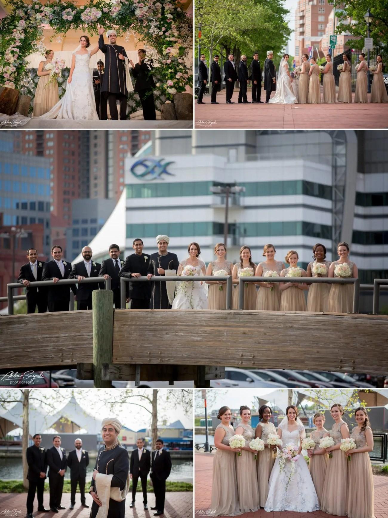 Kathleen and Ali - Baltimore Marriott Waterfront Wedding 11