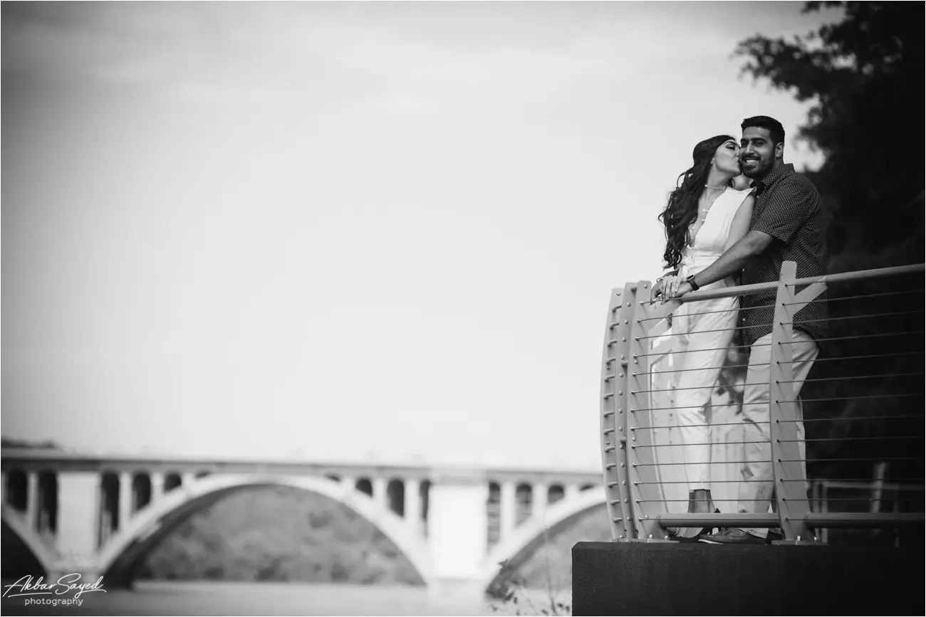 Georgetown Engagement Session Akbar Sayed Photography