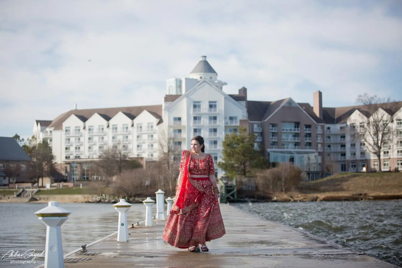 Cassie and Kishan | Hyatt Chesapeake Bay Jewish Hindu Fusion Wedding 78