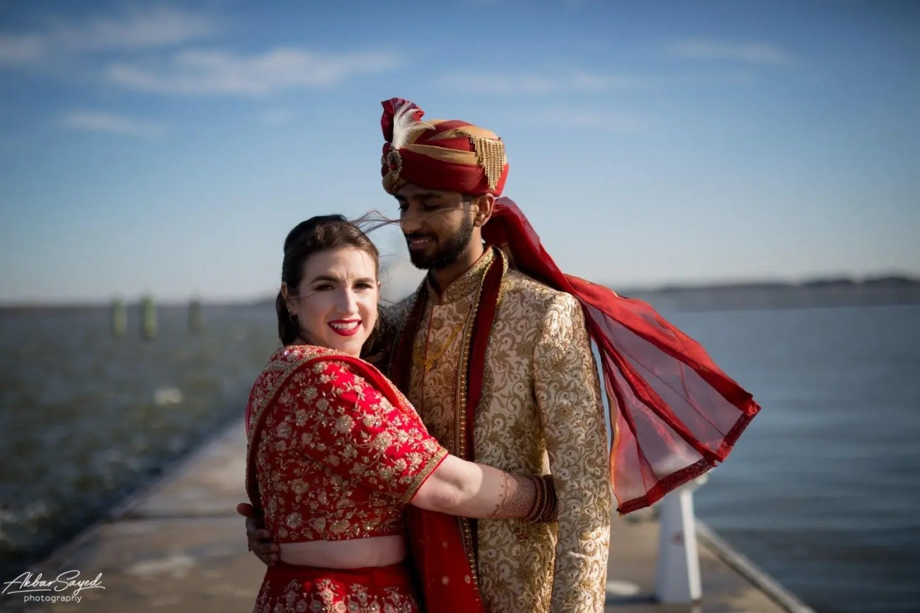 Cassie and Kishan | Hyatt Chesapeake Bay Jewish Hindu Fusion Wedding 80