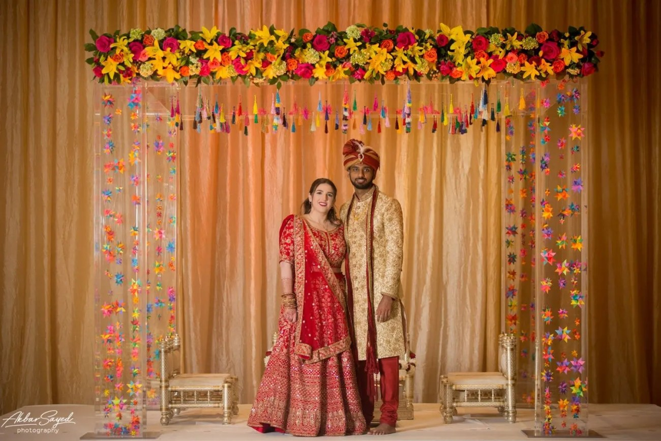 Cassie and Kishan | Hyatt Chesapeake Bay Jewish Hindu Fusion Wedding 82