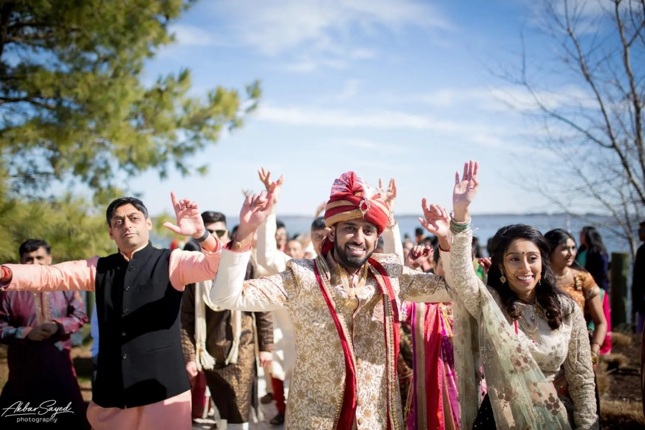 Cassie and Kishan | Hyatt Chesapeake Bay Jewish Hindu Fusion Wedding 92