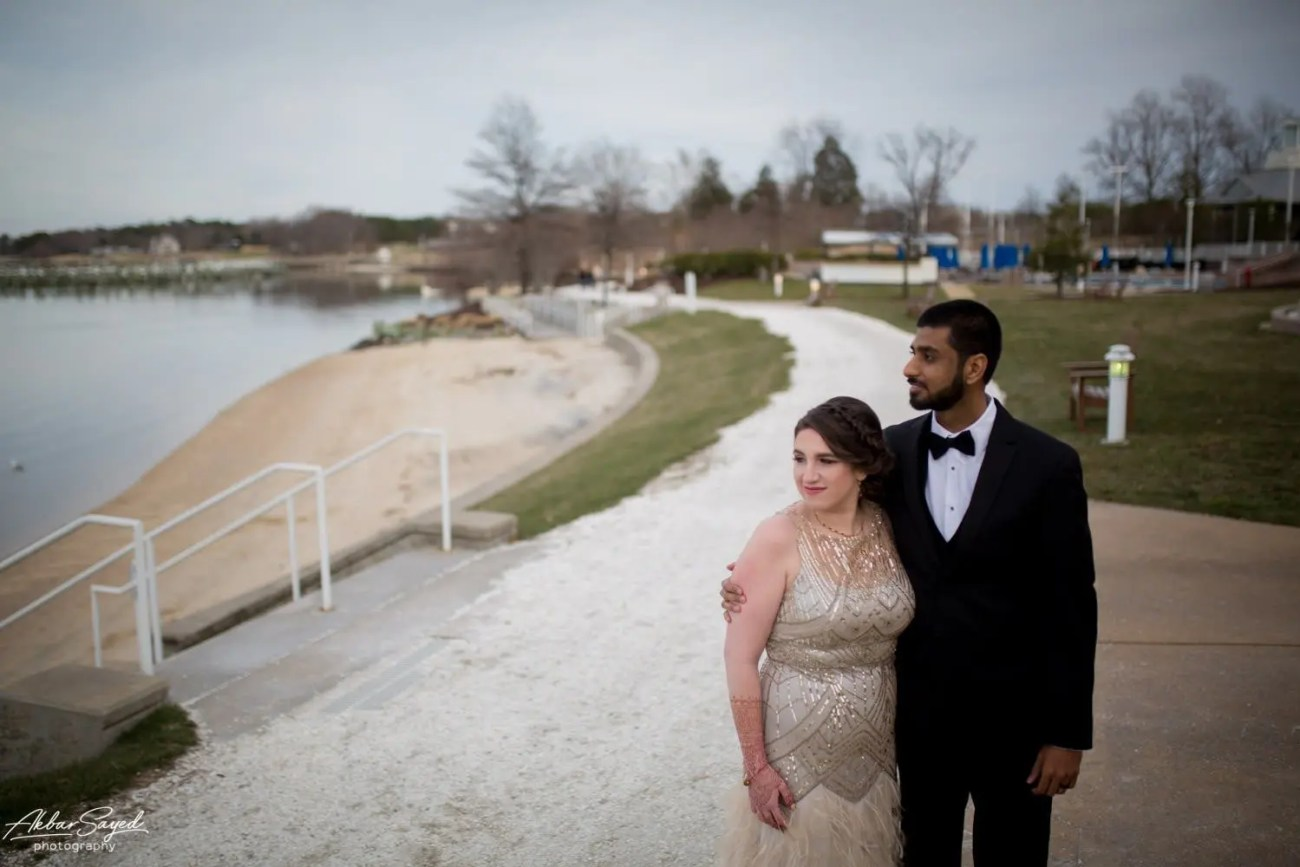 Cassie and Kishan | Hyatt Chesapeake Bay Jewish Hindu Fusion Wedding 119