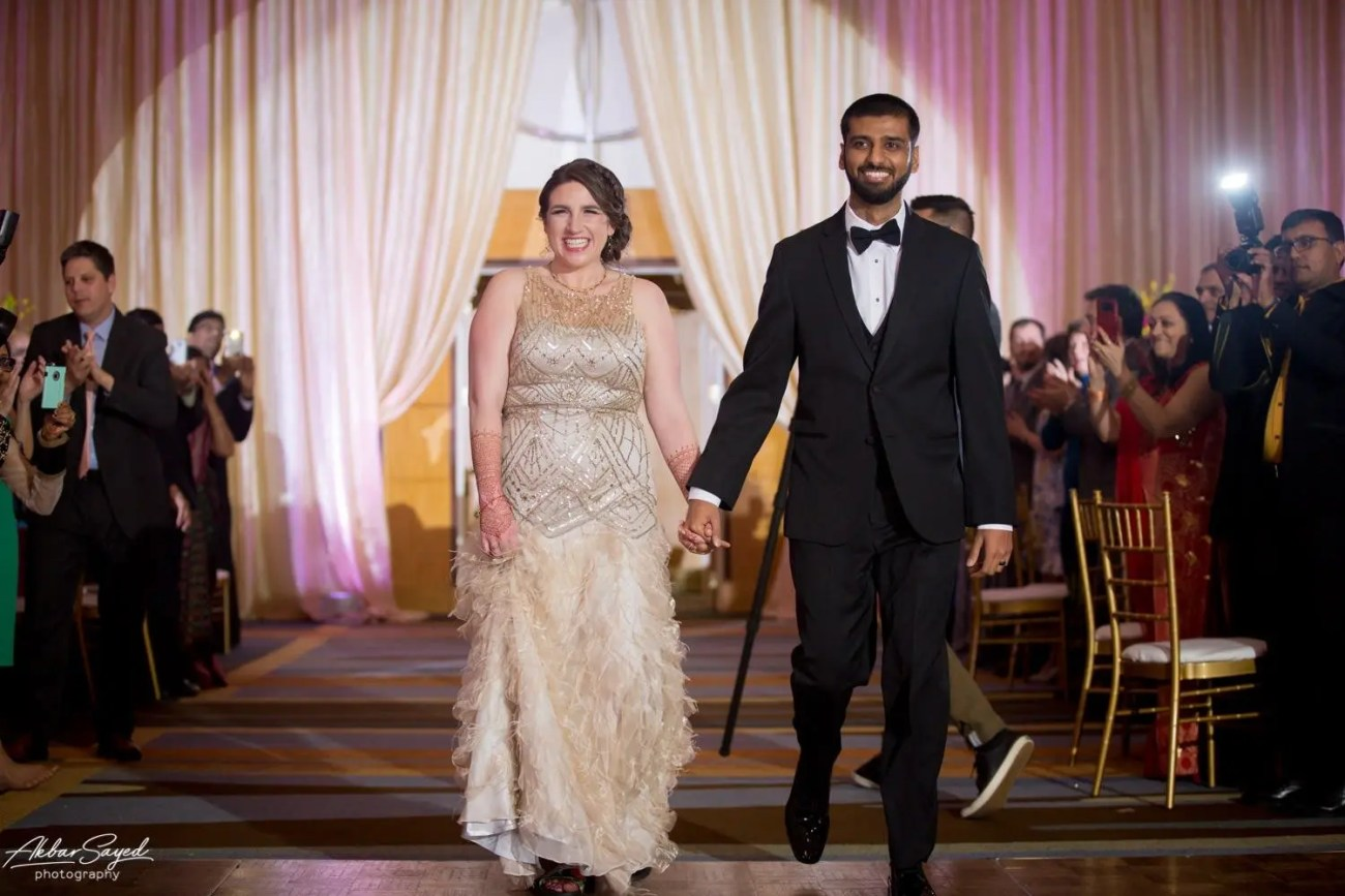 Cassie and Kishan | Hyatt Chesapeake Bay Jewish Hindu Fusion Wedding 127