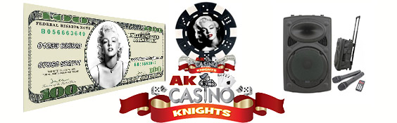 A K Casino Knights hollywood themeing