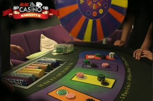 Wheel of fortune, Casino hire Steyning