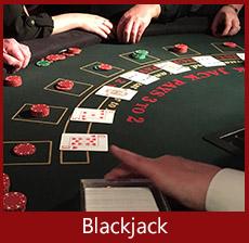 A K Casino Knights Blackjack hire