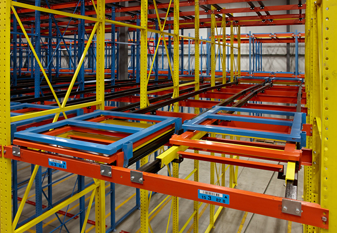 pallet rack guide and identifier