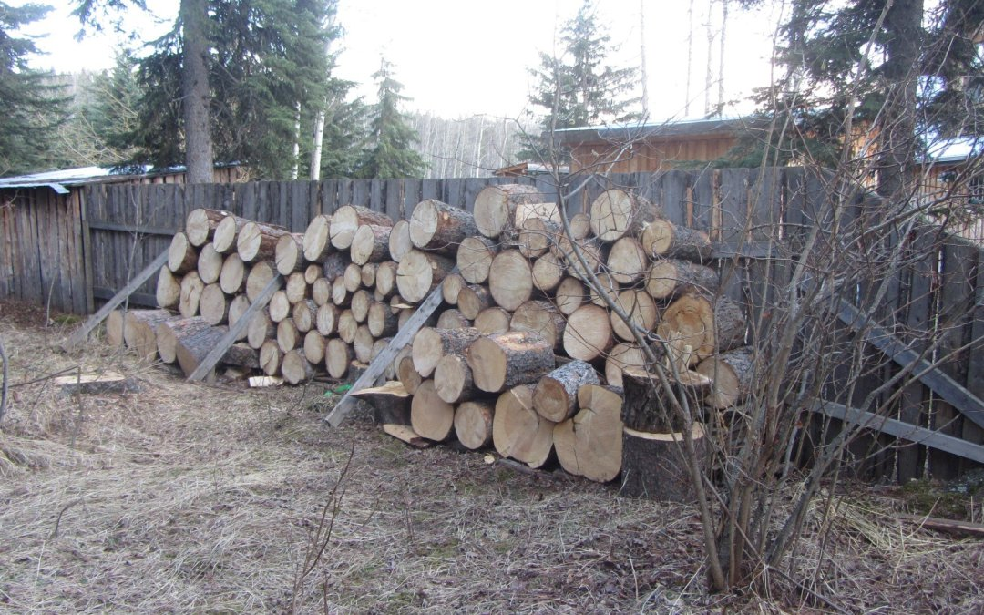 Seven less trees…