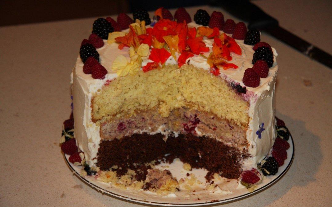 The Akesi Farms Cake