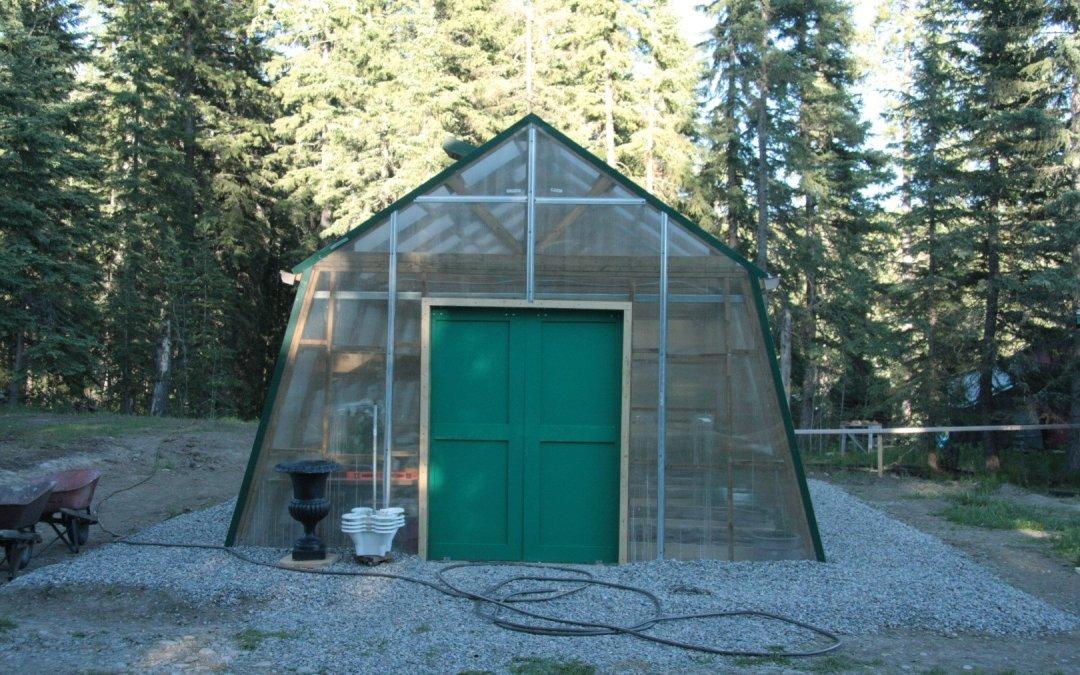 Greenhouse doors!