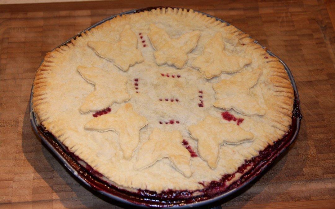Saskatoon Pie!