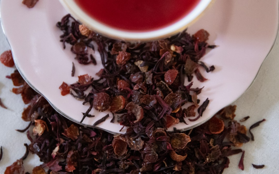 Herbal tea potions for calm and clarity