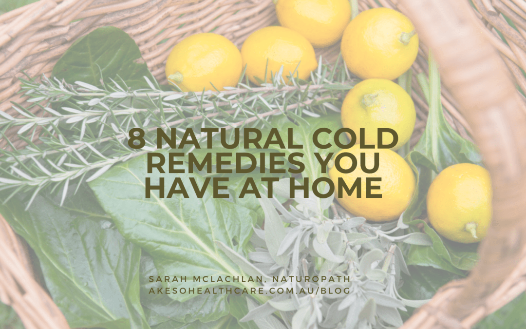 8 natural cold remedies from your kitchen that work